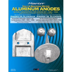 Aluminium Anode Kit ALPHA ONE (85-91)