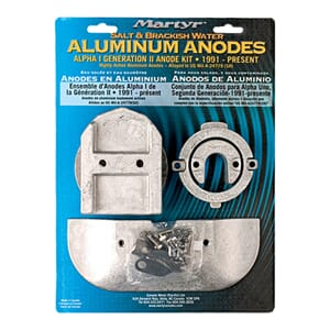Aluminium Anode Kit ALPHA ONE (92-opp)