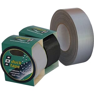 Ducktape 5 m, sort