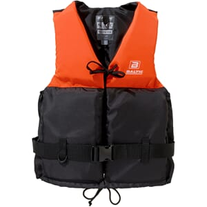 Flytevest, Joy, oransje/sort, XL
