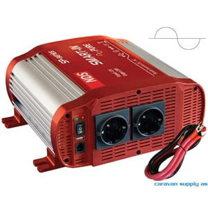 Omformer NDS Smart-In SP2000 2000W ren sinus 12V