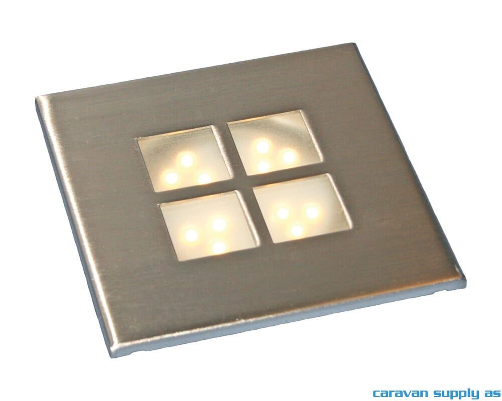 Gamma Led Lampen : Lampe gamma led lumen w w v innbygg Ø cm cm stål