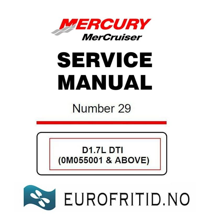 service rep manual 1 7 dti eurofritid no b t og caravandeler p rh eurofritid no Mercruiser Speedometer Mercruiser Speedometer