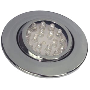 Downlight, LED, Kingston, krom
