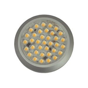 LED Downlight utenpåli. 10-30V 210lm m/touchdimmer varmhvit