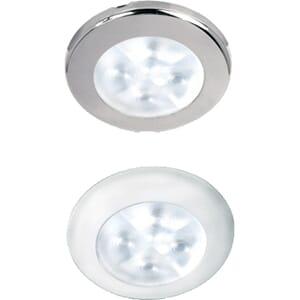 Downlight, LED, Rakino, spread 32 gr, stål