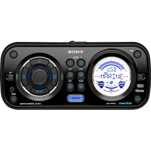 Marine stereo CDX-HR910UI for iPod/USB - Sony