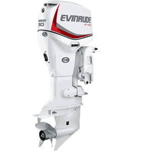 Colorspray TK Johnson Evinrude Man White